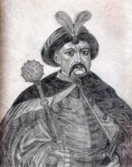 Bohdan Khmelnytsky by volkov